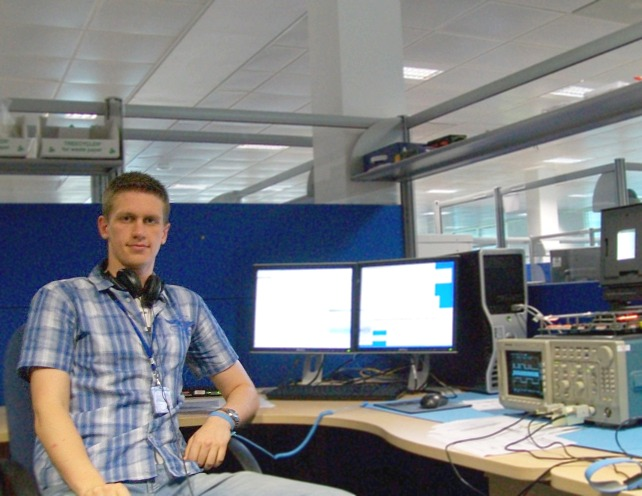 At work. Wolfson Microelectronics PLC, 2009