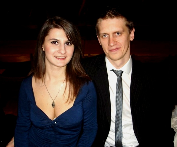 Me and Ada at the CompSci formal. Cambridge, England, 2011