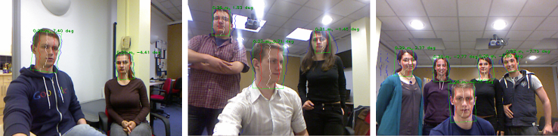 Multiple head detection examples