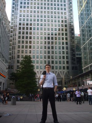After work (Canary Wharf, 2010)